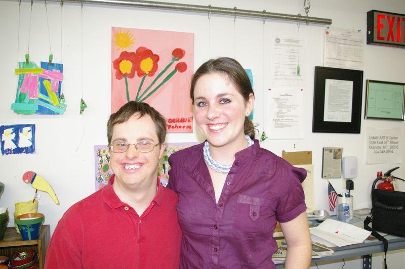 Regan White and Danny Kirkland