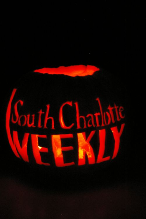 South Charlotte Weekly Regan pumpkin carving