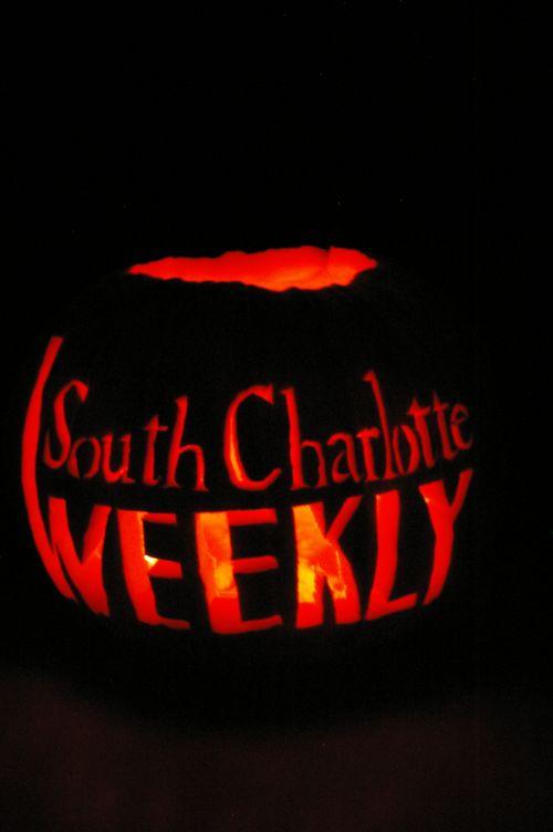 South Charlotte Weekly Regan pumpkin carving